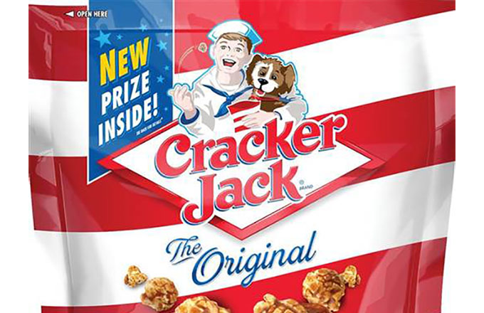End of Era: Cracker Jack eliminates prize in box and updates branding